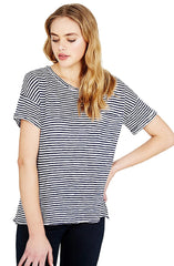 Mia - Stripe T-shirt