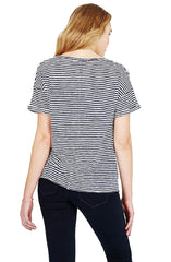 Mia - Stripe T-shirt by Mavi - Picpoket