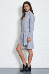 Eclipse Shirt Dress by Nana Judy - Women - Picpoket