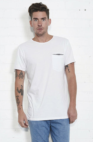 Marine T-Shirt - White