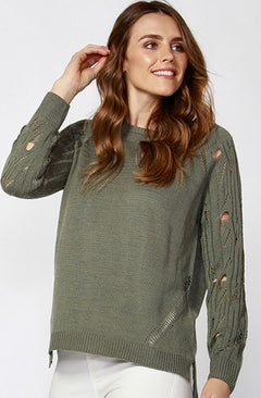 Neville Distressed Knit