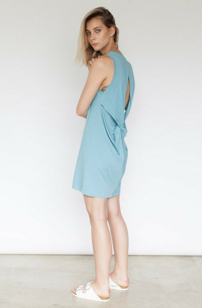 Astrid Twisted Back Dress by Nude Lucy - Picpoket