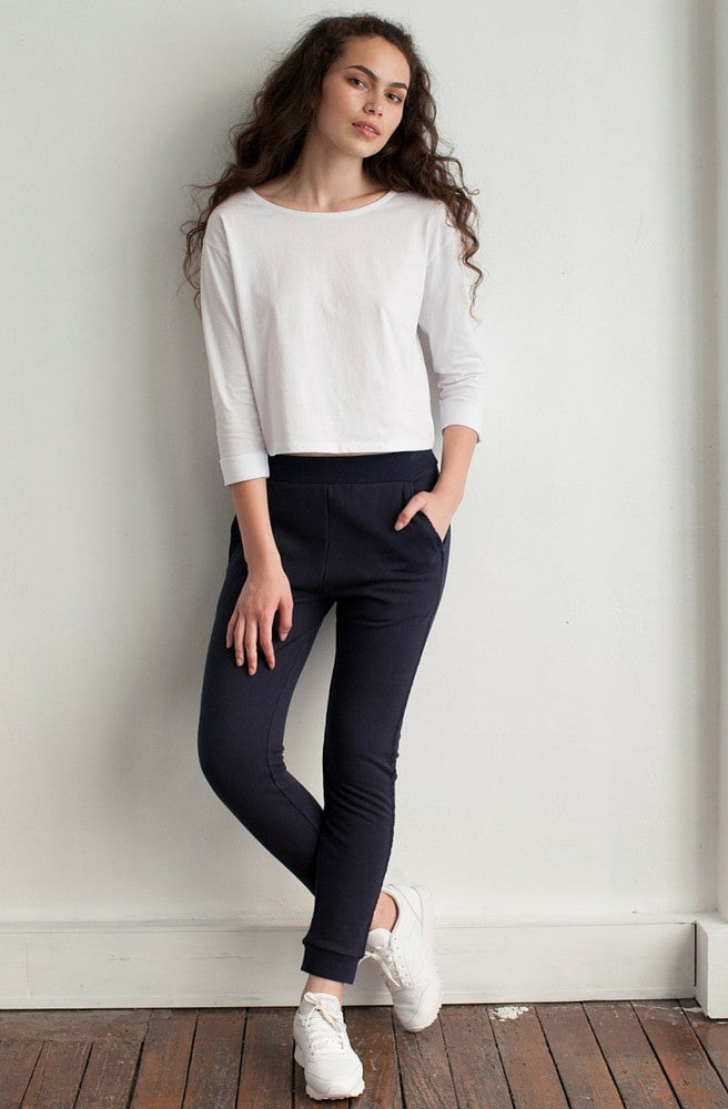 Beacon Roll Sleeve Top by Nude Lucy - Picpoket
