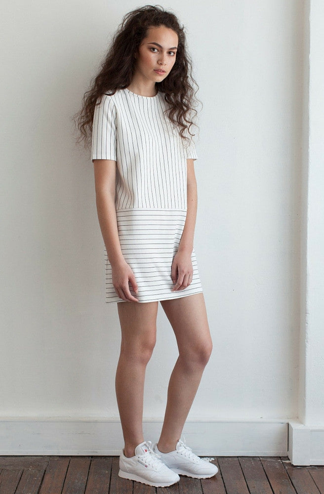 Denver Stripe Dress by Nude Lucy - Picpoket