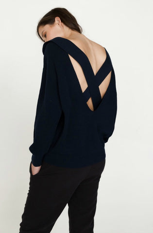 Magda Back Strap Knit by Nude Lucy - Picpoket