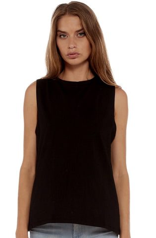 Marty Muscle Tank - Black by Nude Lucy - Picpoket