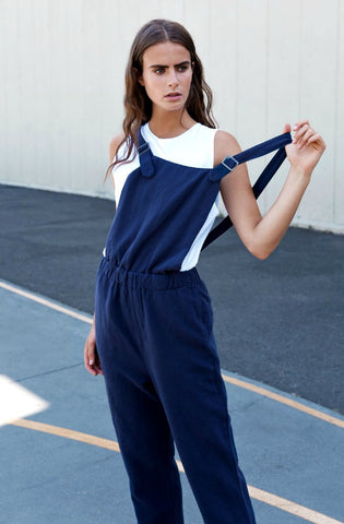 Revs Dungaree Jumpsuit by Nude Lucy - Picpoket