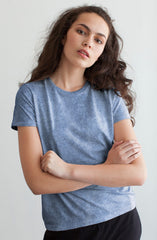 Scotia Acid Wash Tee by Nude Lucy - Picpoket