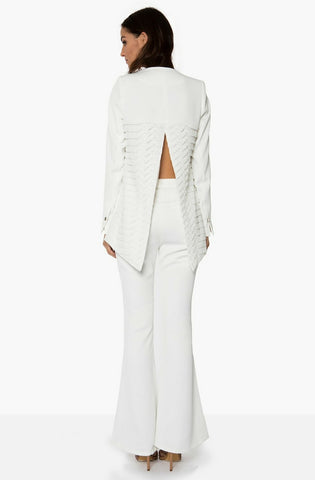 Perspective Blazer - White by Premonition - Picpoket
