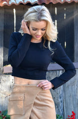Mystified Crop Top by Minty Meets Munt - Picpoket