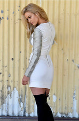 Mystified Long Sleeve Mini Dress by Minty Meets Munt - Picpoket
