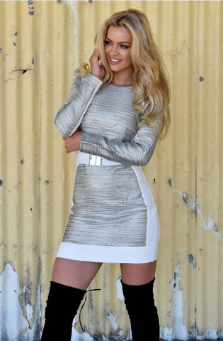 Mystified Long Sleeve Mini Dress