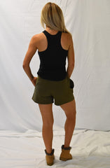 Quartz Paperbag Waist Shorts by Nude Lucy - Picpoket