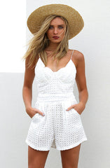 Risky Business Romper by Madison Square - Picpoket