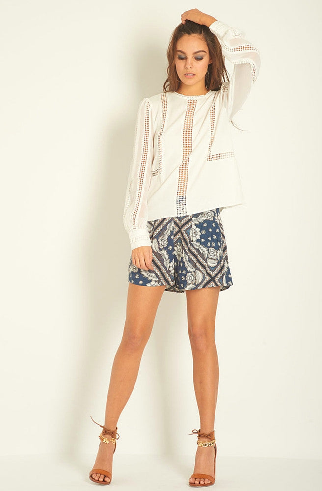 Rock The Casbah Shorts by Three Of Something - Picpoket