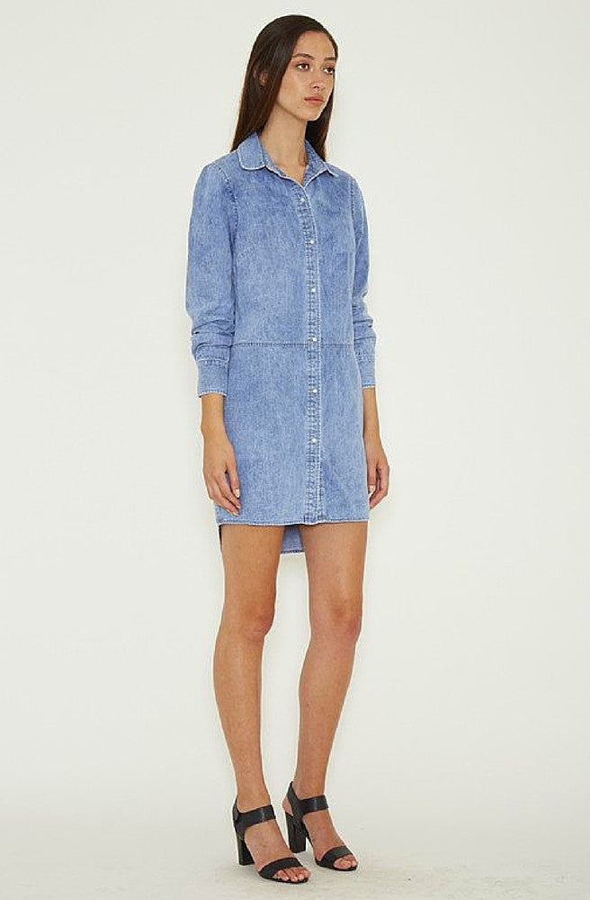Dahlia Row Shirt Dress by Ruby Sees All - Picpoket