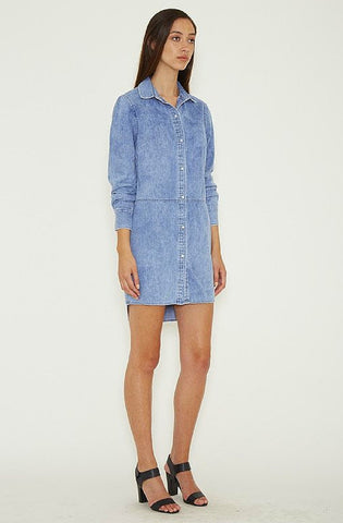 Dahlia Row Shirt Dress