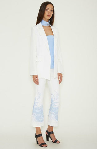 Titanium Blazer - White by Ruby Sees All - Picpoket