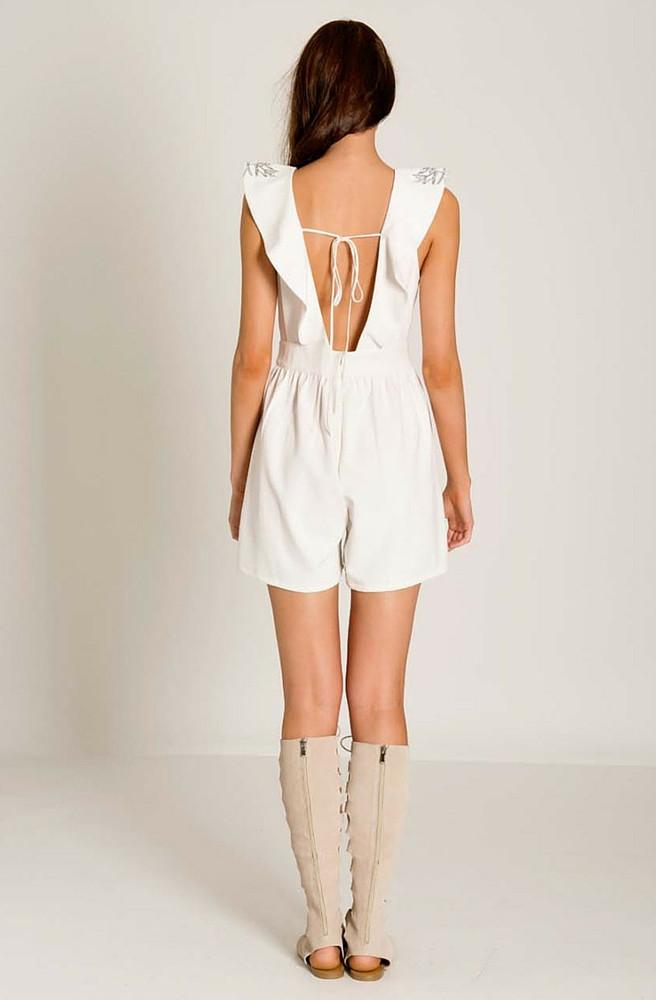 Woodstock Phoney Playsuit by Three Of Something - Picpoket