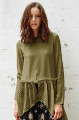 Lonesome Dot Quinn Top by Three Of Something - Picpoket