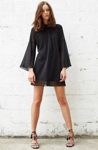 Lonesome Dot Dress by Three Of Something - Picpoket