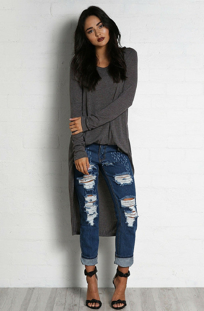 Breakdown Boyfriend Jeans by Madison Square - Picpoket