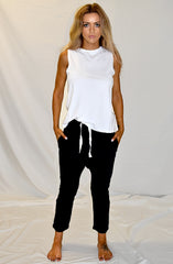 Husky Cotton Drop Crotch Pants by Nude Lucy - Picpoket