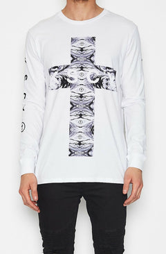 Testify Long Sleeve T-shirt - White