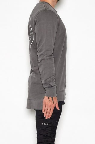 Misfit Long Back Sweatshirt