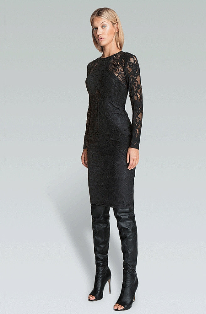 Path Dress - Black by Bless'ed Are The Meek - Picpoket