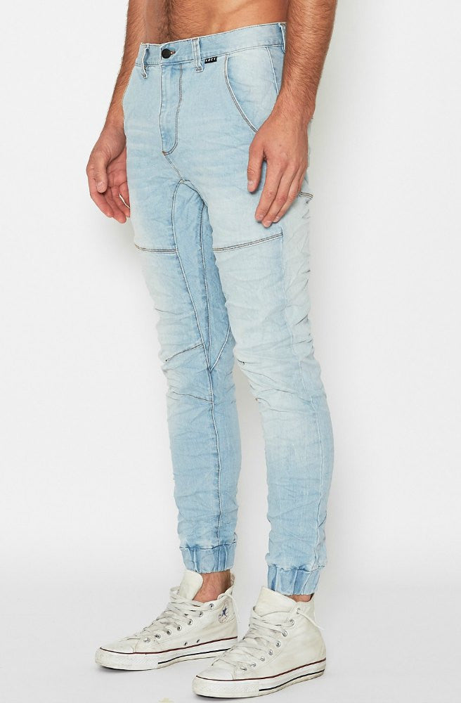 Messiah Denim Jeans - Ombre Blue by KSCY - Picpoket