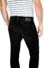 Yves - Coal Black Edge Jeans by Mavi - Men - Picpoket