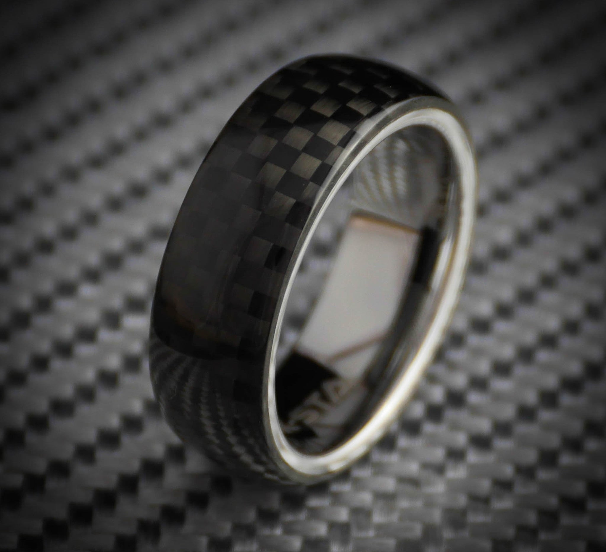 made il bold titanium tractor srri rings tread design ring products sizing to tire custom fullxfull carved any unique band