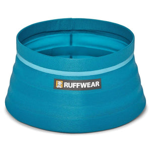 Ruffwear Bivy Travel Dog Bowl fully open