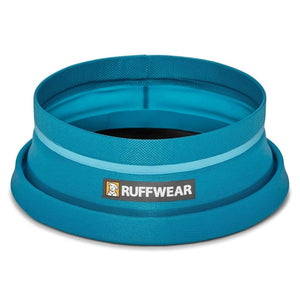 Ruffwear Bivy Travel Dog Bowl half open