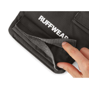 Ruffwear Brush Guard Close-up showing the Velcro closures