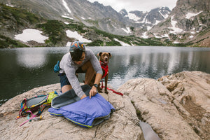 2020 Highlands Dog Sleeping Bag - Lightweight, Packs Away Small