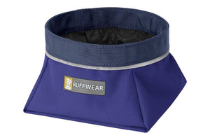 Ruffwear Quencher Bowl in Huckleberry Blue