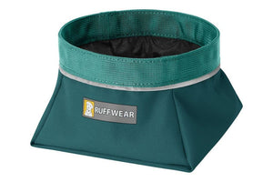Ruffwear Quencher Dog Bowl in Tumalo Teal