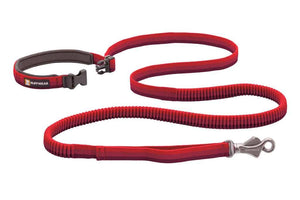 Ruffwear Roamer Leash Red Sumac Unbuckled