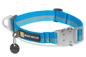 Top Rope Dog Collar - V-Ring Stays at Top of Neck