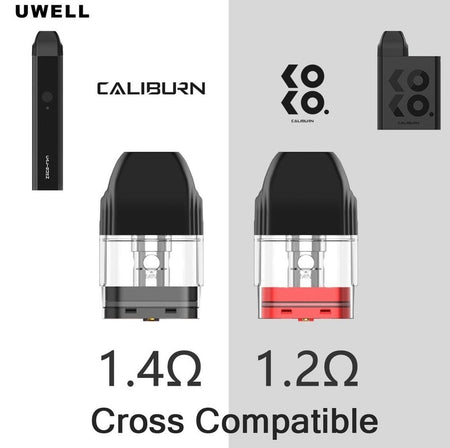 UWELL CALIBURN/KOKO REPLACEMENT POD (4 PACK)