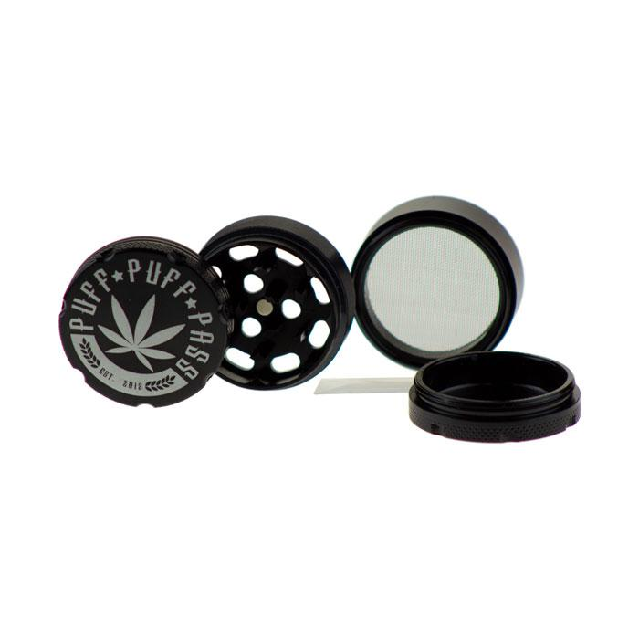 PUFF PUFF PASS-3 STAGE-40MM ALUMINUM GRINDER