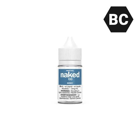 BERRY BY NAKED100 MENTHOL [BC] - 30 mL