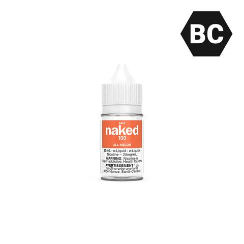 ALL MELON BY NAKED100 SALT [BC] - 30 mL