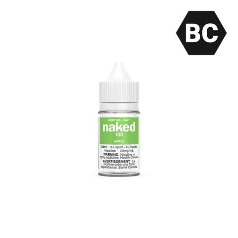 APPLE BY NAKED100 SALT [BC] - 30 mL
