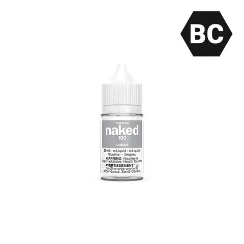 CUBAN BY NAKED100 TOBACCO [BC] - 30 mL