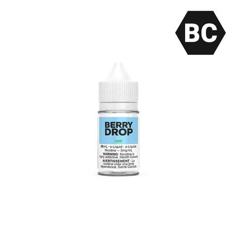 LIME BY BERRY DROP SALT - 30 mL