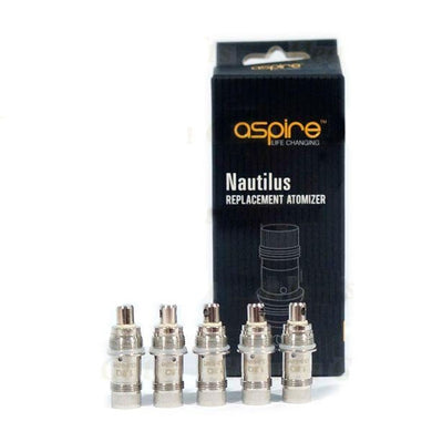 Aspire BVC Coils (0.7ohm) for Nautilus 2 & Nautilus Mini & Nautilus & K3 Kit-5 pack