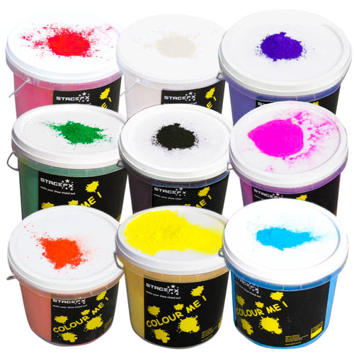 Colour Powder / Holi Powder 10kg Bulk Pack